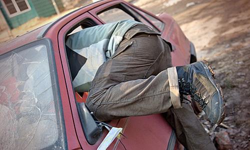 В Керчи поймали автомобильного вора