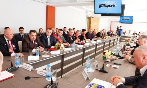 Керчане приняли участие в слете городов-героев в Новороссийске