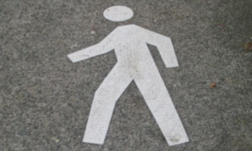 ГАИ просит ночных пешеходов носить светлую одежду