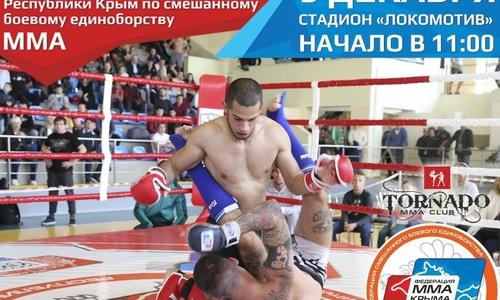 Керчане поборются за чемпионское звание в ММА