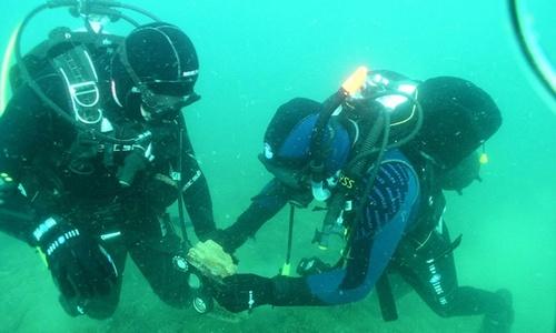 «Крымская Атлантида» скрывалась от камер под мутными водами