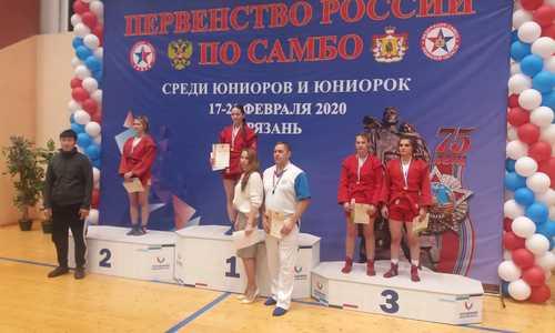 Керченская самбистка получила «бронзу» на соревнованиях в Рязани