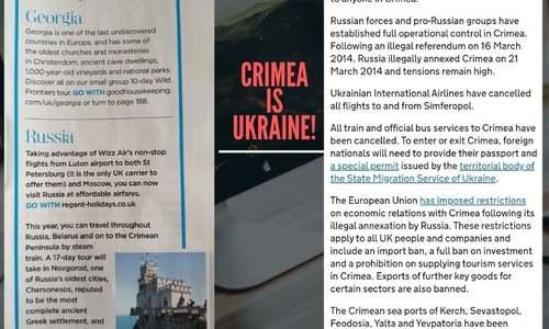 Британский журнал назвал Крым российским регионом