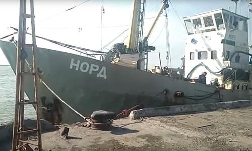 Дело против капитана судна «Норд» передали в суд Киева