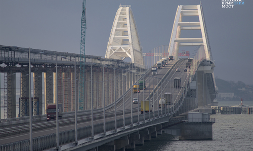 На Крымском мосту зафиксировали рекорд превышения скорости