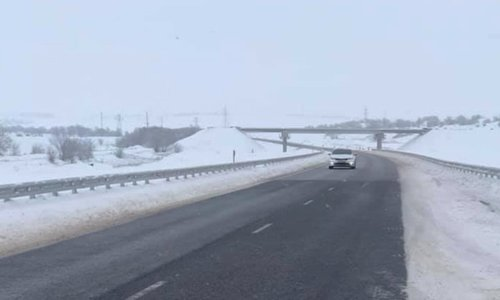 Подрядчика трассы «Таврида» штрафуют за заснеженную дорогу