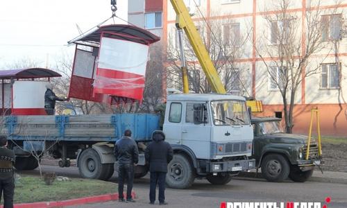 На Ворошилова появились остановки