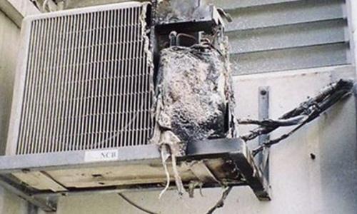 В жилом доме Керчи произошел пожар