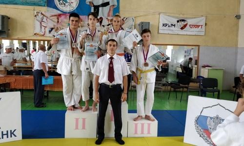 Дзюдоисты из Керчи заняли призовые места в Феодосии
