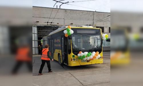 На улицы Керчи вернулись троллейбусы