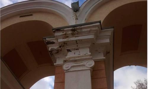 В Керчи разрушается еще одна арка