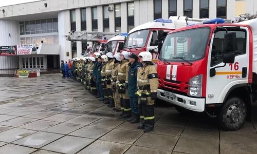 Керченские пожарные «тушили» ДК «Корабел»