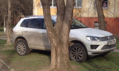 ФОТОФАКТ: «Я паркуюсь, как хочу»
