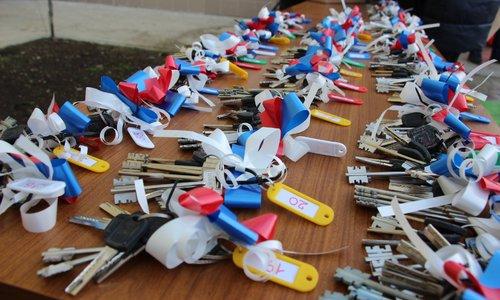 Керчане получили ключи от квартир в доме для депортированных