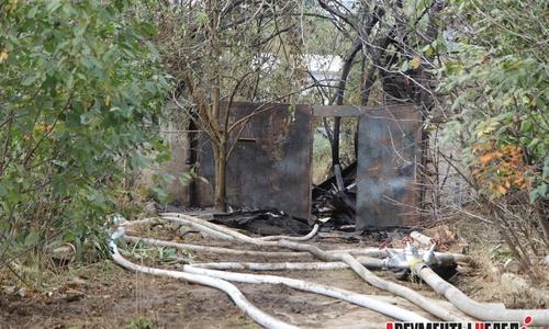 Причиной пожара в доме на Семи ветрах стал поджог?