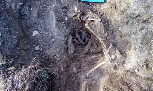 В крепости Керчь нашли останки красноармейцев