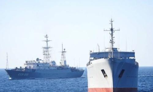 Корабли Украины готовились к бою в Керченском проливе