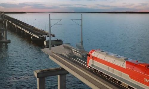 Цену на строительство железнодорожных подходов к мосту зафиксировали