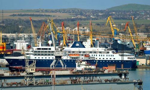 В Керчи принят порядок плавания и стоянки судов в Керченском проливе