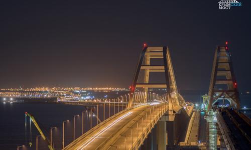 На Крымском мосту насчитали 3,5 миллиона автомобилей