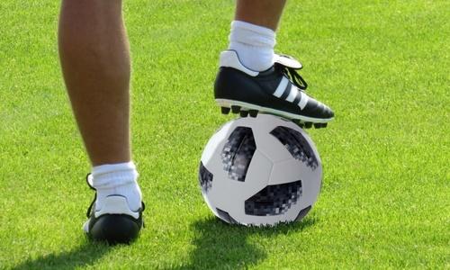 Студенты техникума Керчи играли в футбол