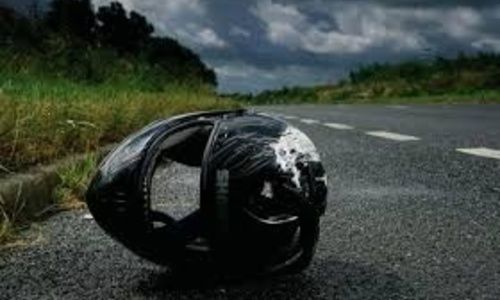 На трассе Керчь – Феодосия мотоциклист влетел в иномарку