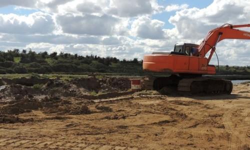 Добыча песка в хвостохранилище приостановлена